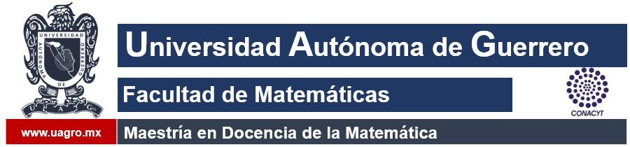 Maestría en Docencia de la Matemática